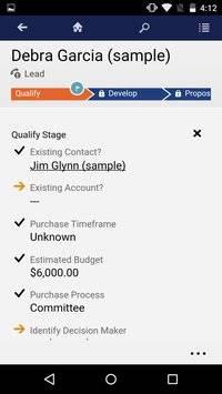Dynamics CRM for Phones截图2