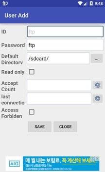 FTP Server截图5