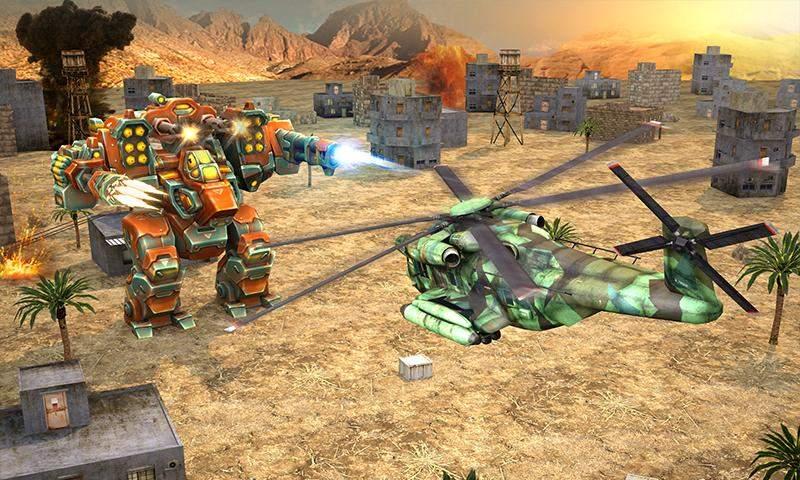 直升机大战外星人截图3