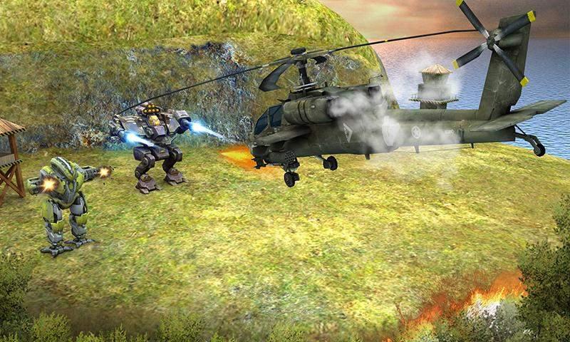 直升机大战外星人截图4