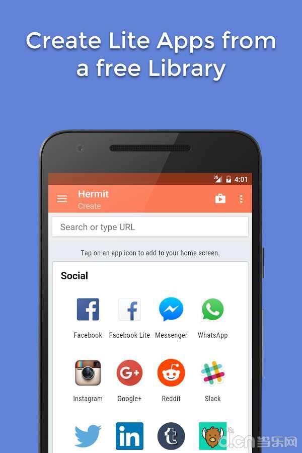 Hermit ? Lite Apps Browser截图1