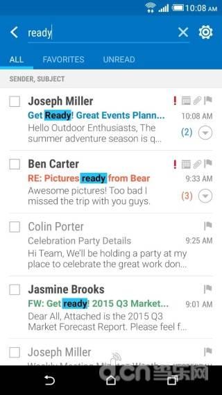 HTC邮件截图1