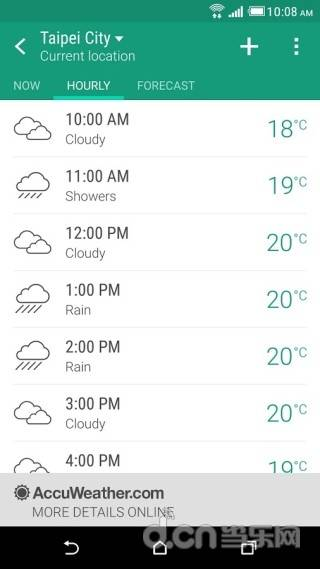 HTC天气截图1