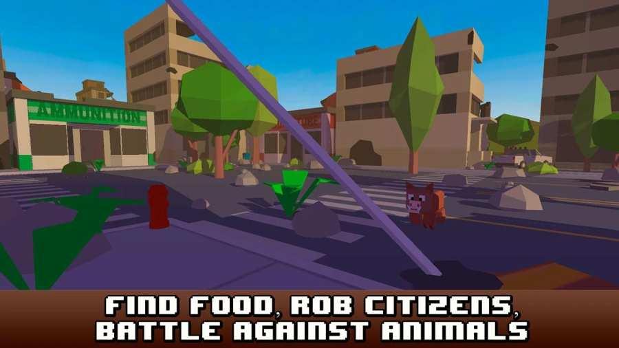 City Craft Survival Simulator截图4