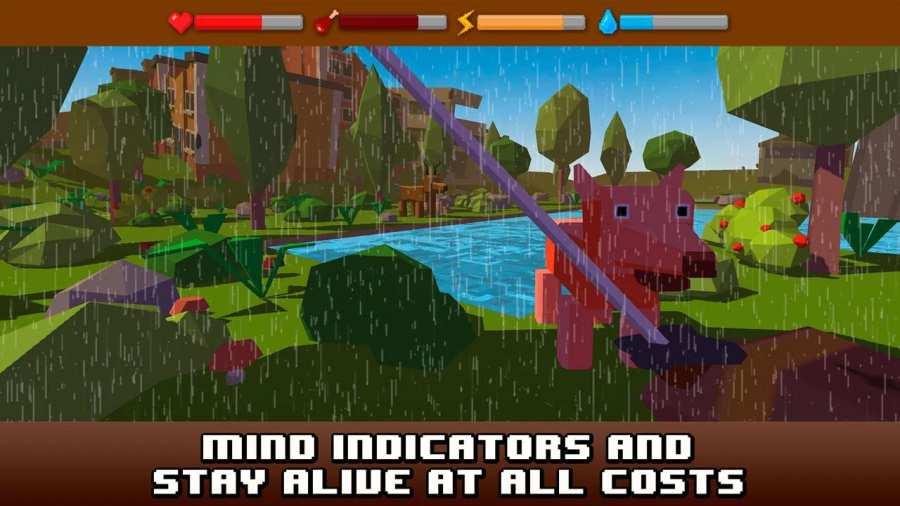 City Craft Survival Simulator截图5