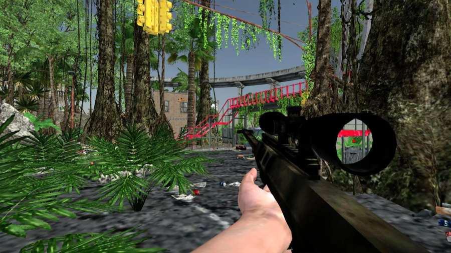 Alone Fighter Sniper Combat截图1