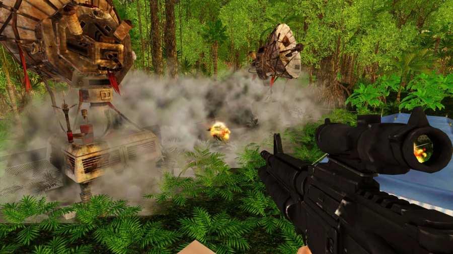Alone Fighter Sniper Combat截图4