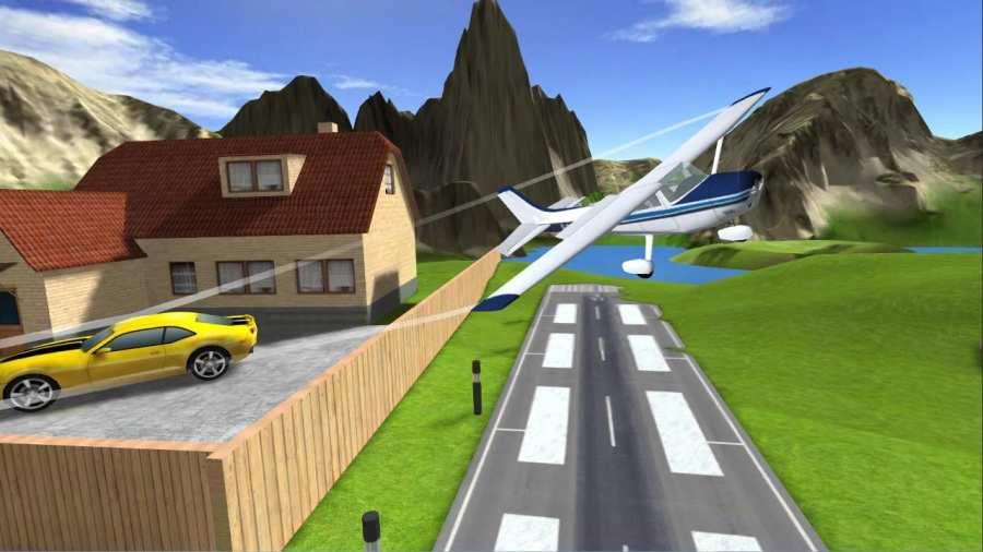 Airplane Flight Simulator RC截图0