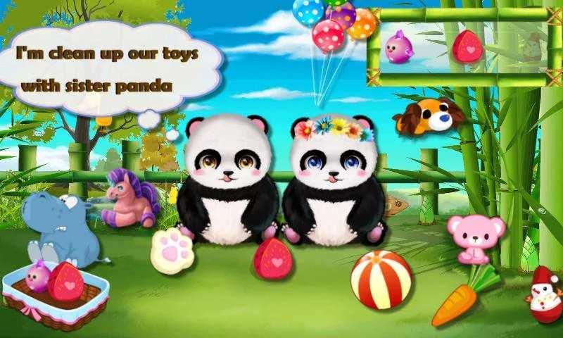 照顾可爱熊猫—趣味动物护理&有爱萌宠之家