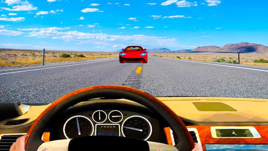 汽车驾驶模拟器3D截图1