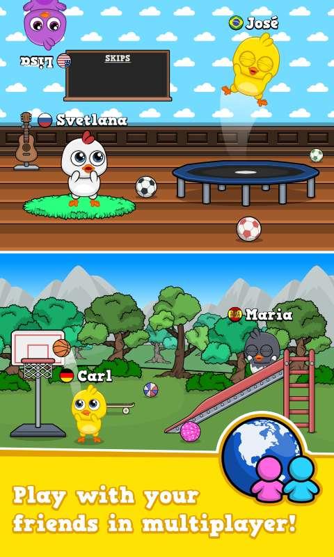 我的鸡 - 虚拟宠物游戏截图2