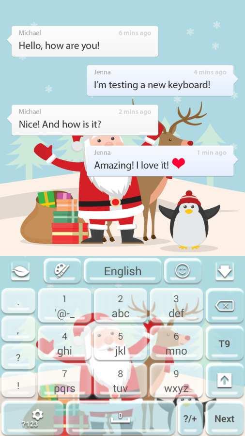 圣诞快乐键盘截图2
