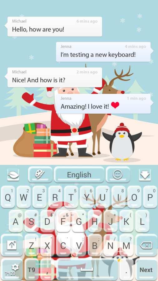 圣诞快乐键盘截图5
