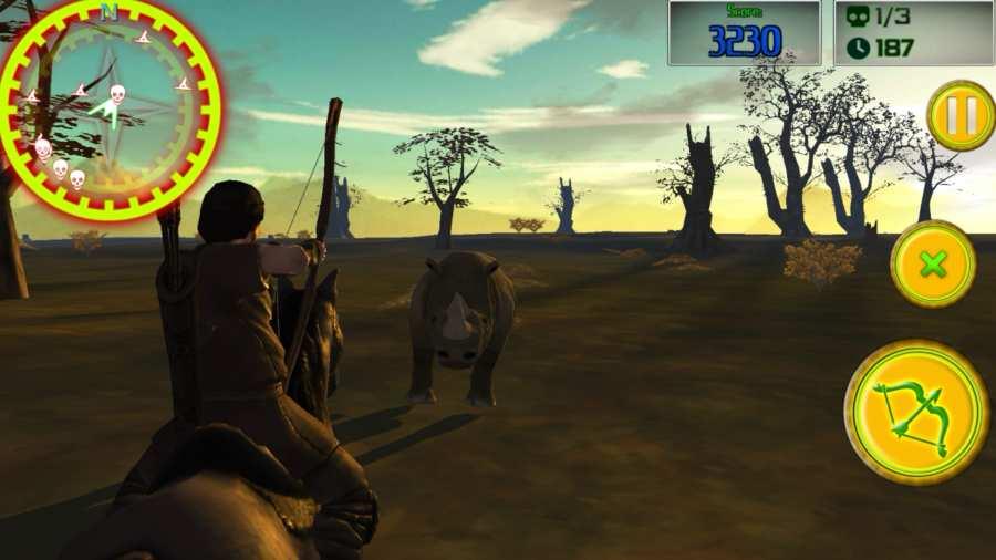Safari的弓箭手:动物猎人截图2