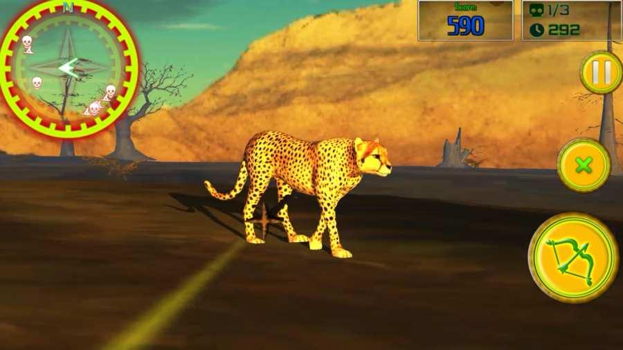 Safari的弓箭手:动物猎人截图3