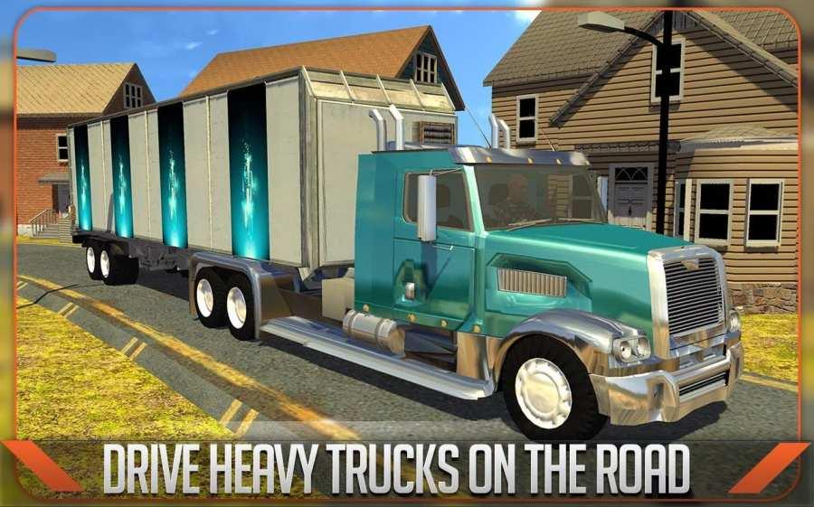 Truck Simulator 3D 2016截图0