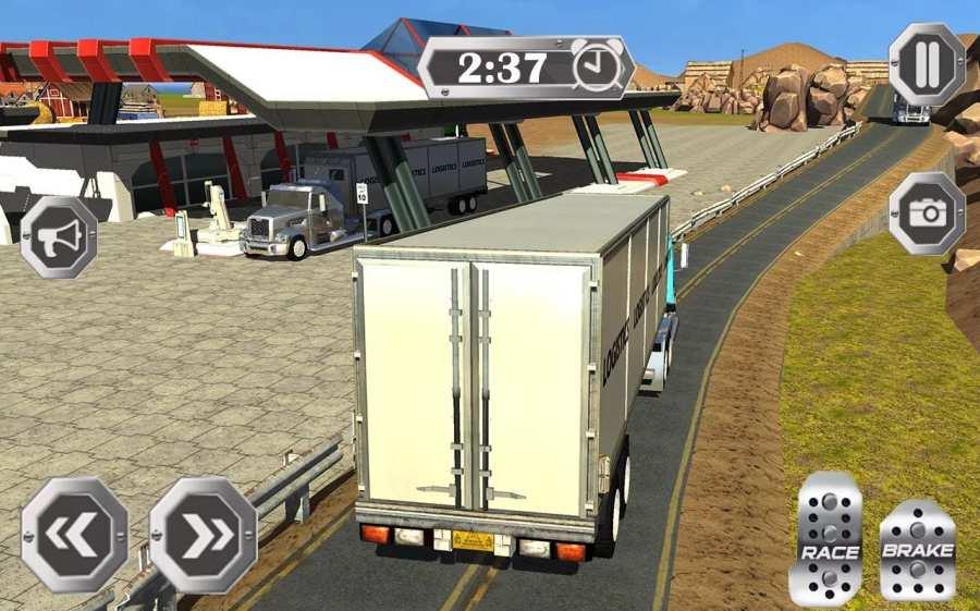 Truck Simulator 3D 2016截图2