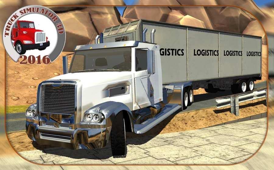 Truck Simulator 3D 2016截图4