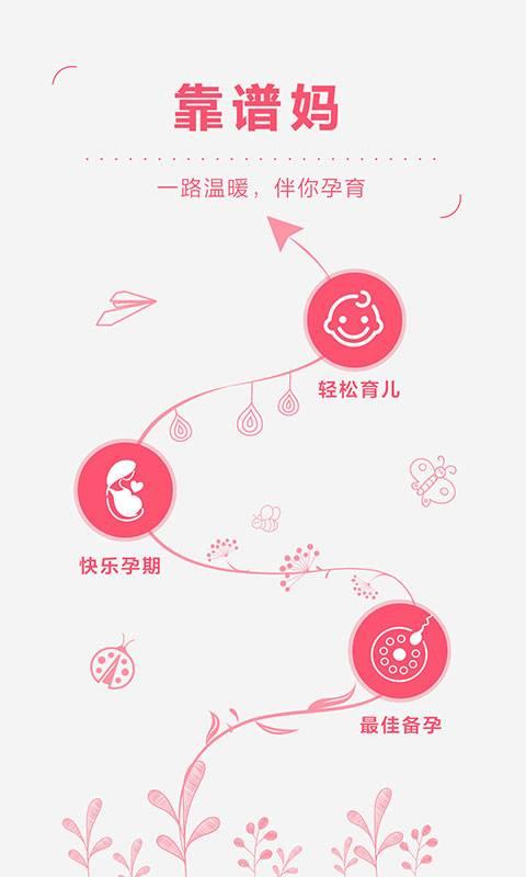 靠谱妈—备孕、怀孕、育儿必备的备孕助手、怀孕管家、育儿知识大全截图0