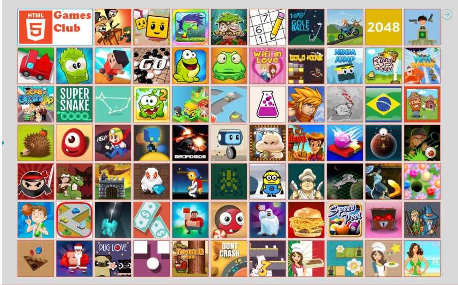 HTML5 Games  Club ⚡