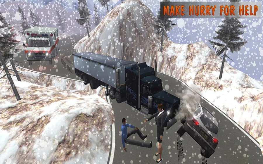 救护车模拟器:救援3D截图1