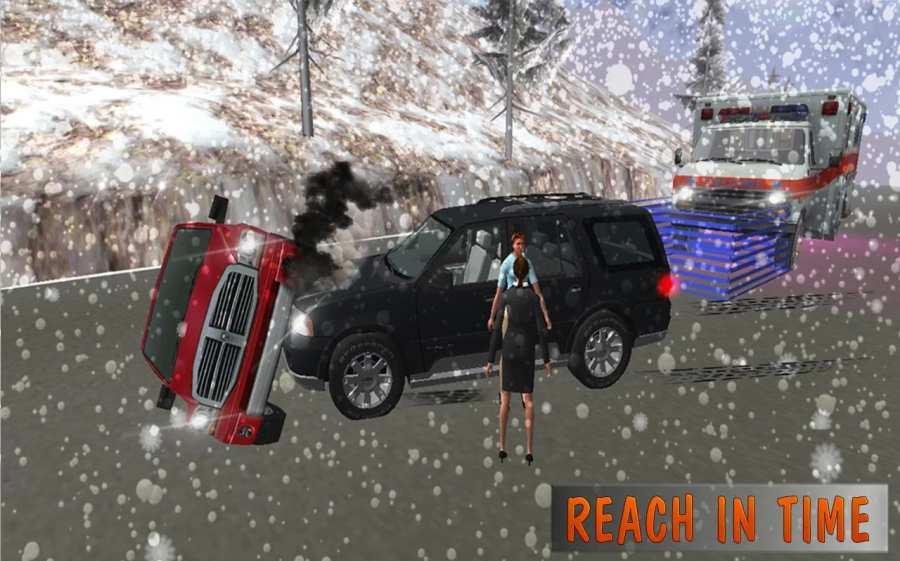 救护车模拟器:救援3D截图2