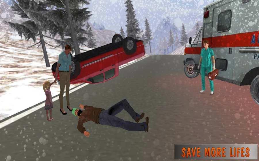 救护车模拟器:救援3D截图3