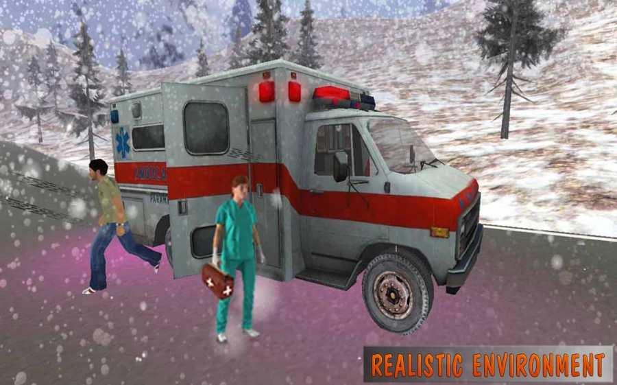 救护车模拟器:救援3D截图4