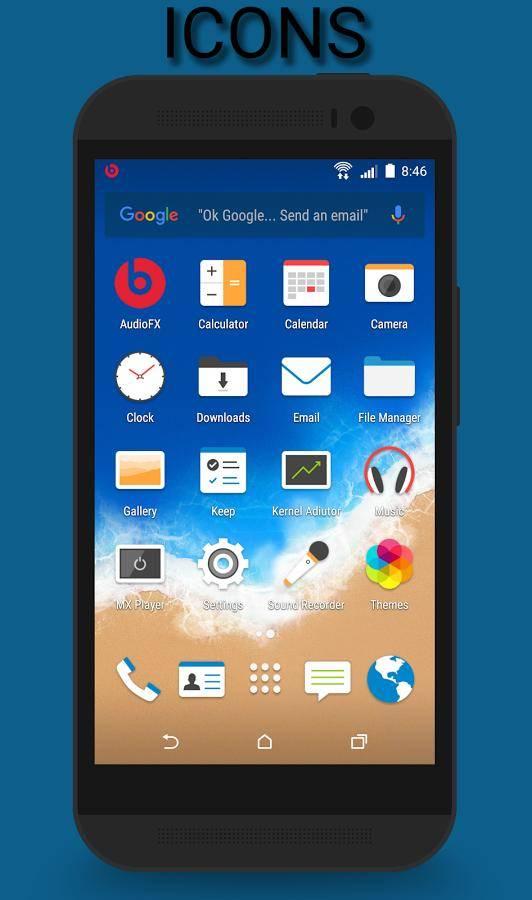 HTC Sense 7 CM12 Theme截图1