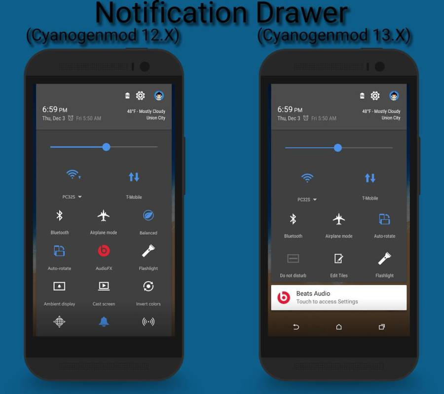 HTC Sense 7 CM12 Theme截图2