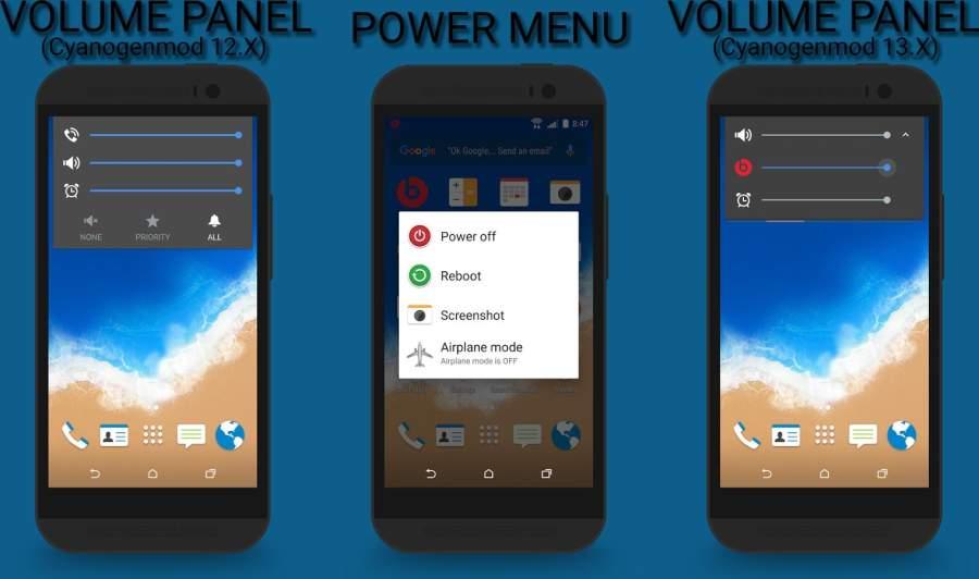 HTC Sense 7 CM12 Theme截图3