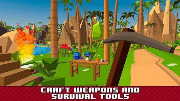 Jurassic Island Survival Sim截图2