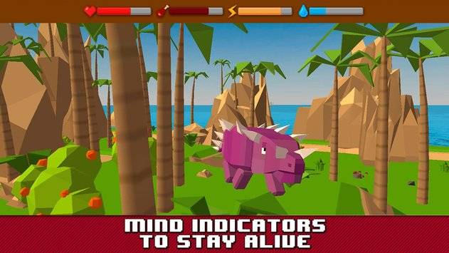 Jurassic Island Survival Sim截图3