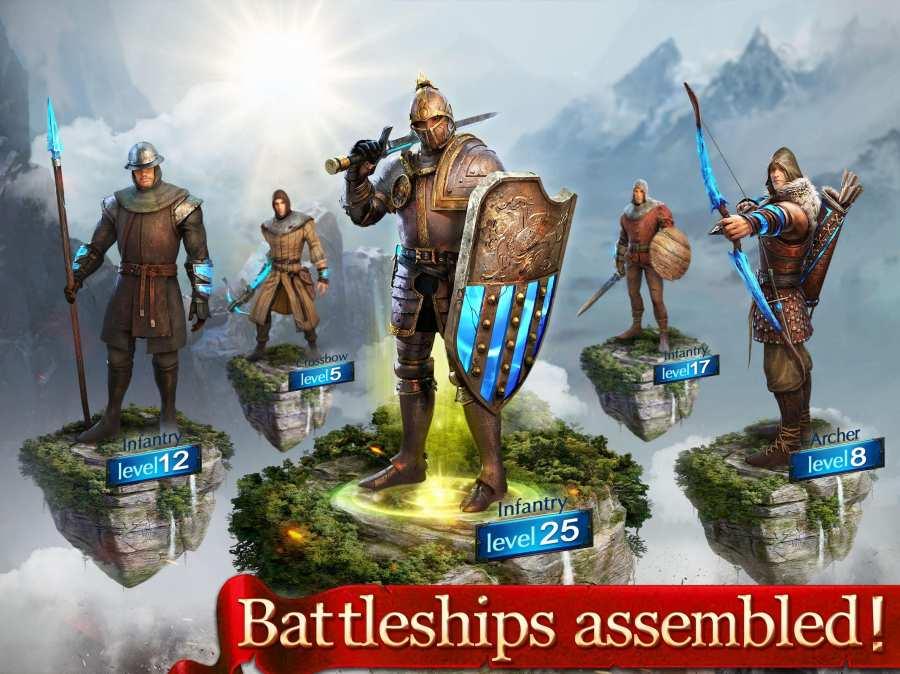 国王时代:天空之战截图0