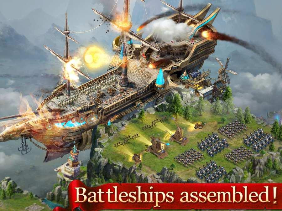 国王时代:天空之战截图1