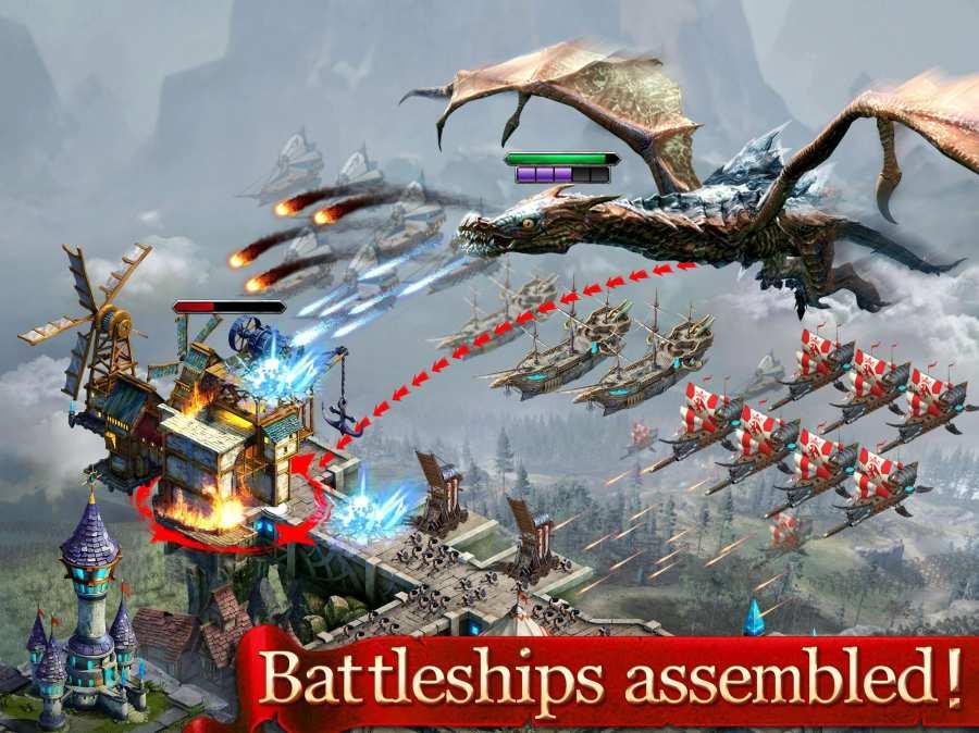 国王时代:天空之战截图2