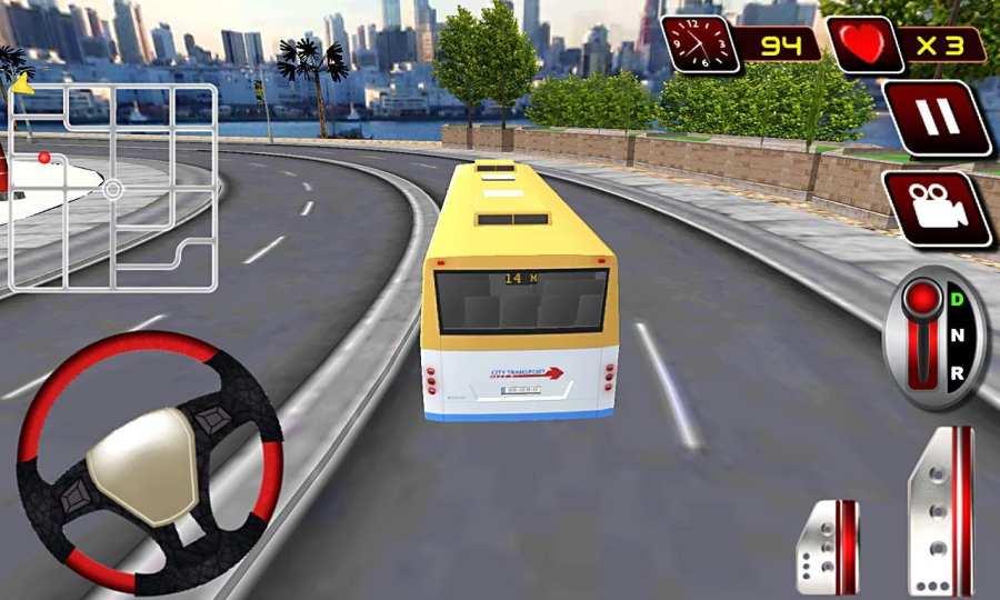 真正的现代城市公交车司机截图2