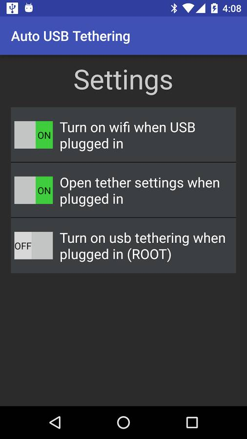 自动USB热点