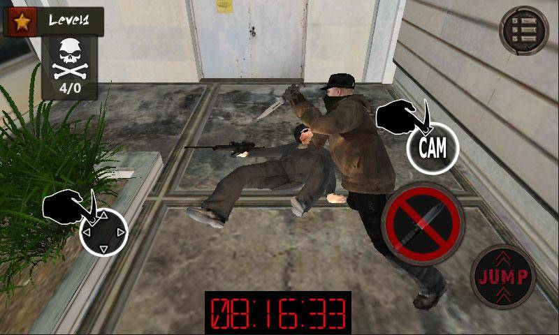 罪恶都市:黑帮暗杀者 3D截图1