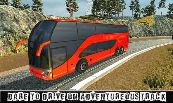 City Coach Bus Sim Driver 3D截图0