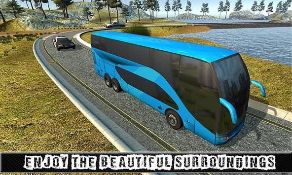 City Coach Bus Sim Driver 3D截图2