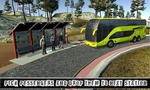 City Coach Bus Sim Driver 3D截图3