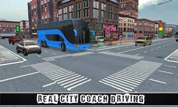 City Coach Bus Sim Driver 3D截图4
