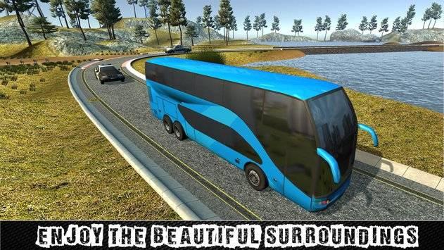 City Coach Bus Sim Driver 3D截图8