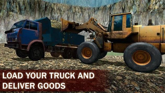 Loader Dump Truck Simulator 3D截图1