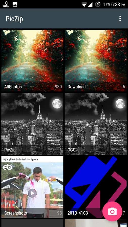 图片压缩:PicZip截图1