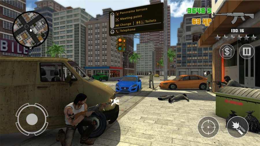 犯罪冲突:疯狂城市战争截图2