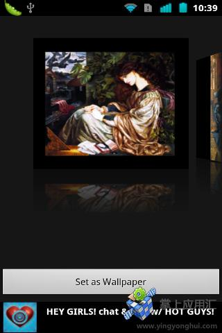 【免費個人化App】拉斐尔前派艺术壁纸-APP點子