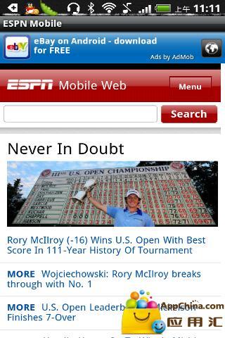 ESPN移动版