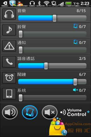 音量控制+